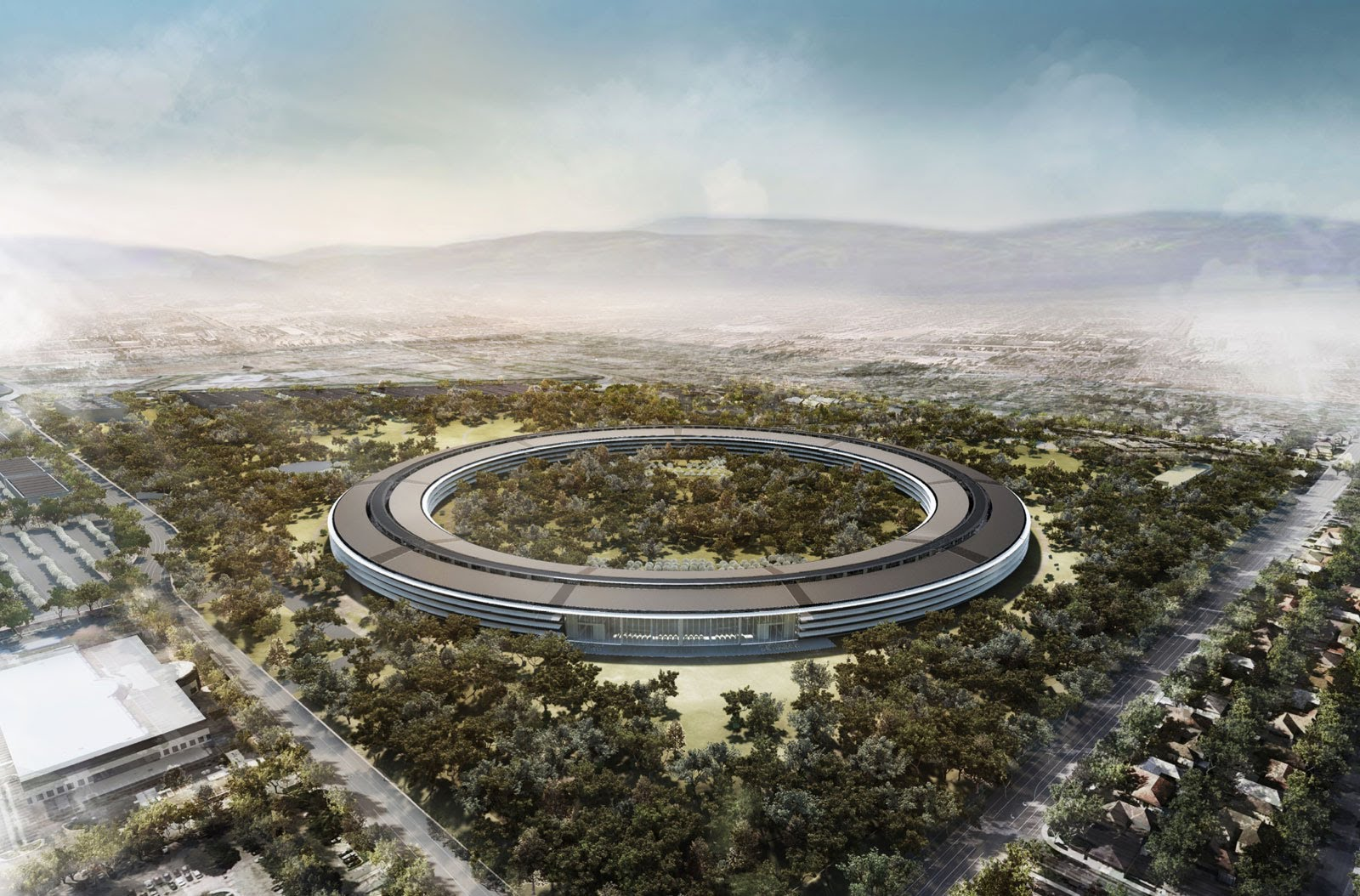Apple Campus 2 nu echt bijna af (video)