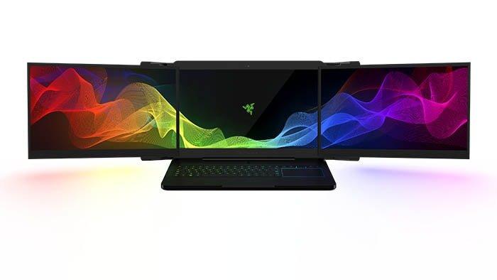 <p>Razer heeft op CES 2017 een gaming laptop gepresenteerd met Drie 4K schermen die automatisch uitschuiven. Waardoor je overal waar je wil een setup hebt en snel kan werken Specs [&hellip;]</p>