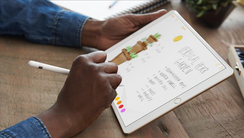 Nieuwe iPad Pro met 10,5 inch scherm