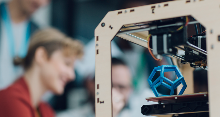 Hoe is de 3D-Printer ontstaan?