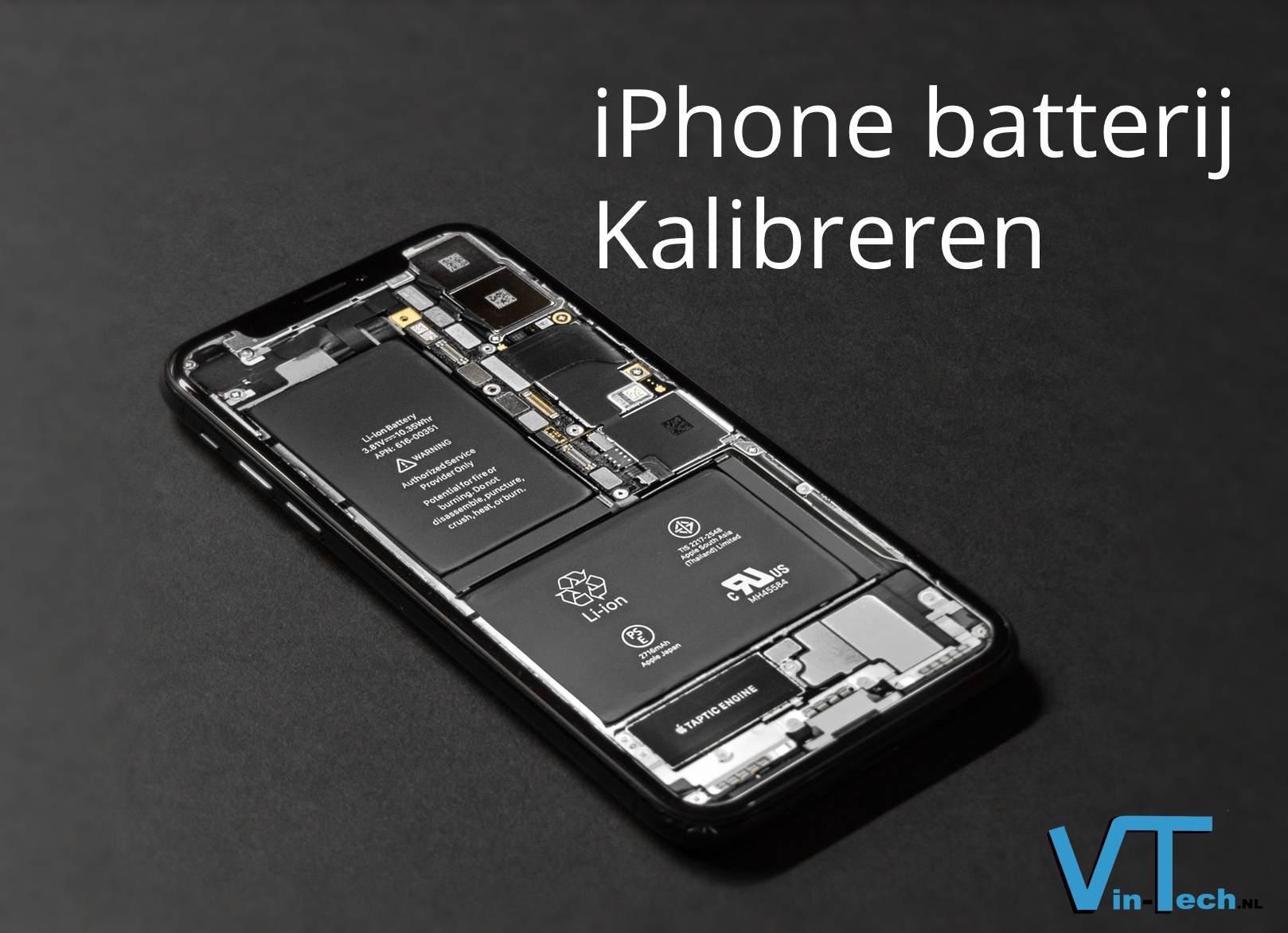 Kalibreer je iPhone batterij, simpel in 4 stappen